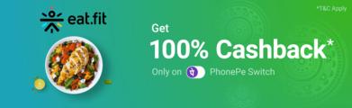 PhonePe Eatfit Offer