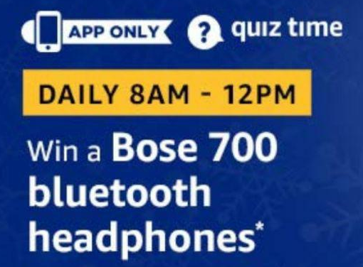 Amazon Bose 700 Bluetooth Headphones Quiz