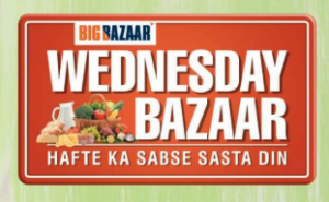 Bigbazaar Wednesday