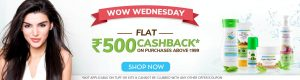 Mamapay Wallet Cashback - Get FLAT Rs 500 Cashback on Orders Above Rs 999