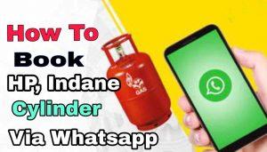 Book Gas Cylinder Via WhatsApp
